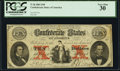Confederate Notes:1861 Issues, T26 $10 1861 PCGS Very Fine 30.. ...