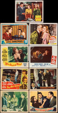 Movie Posters:Crime, You Can't Get Away with Murder & Other Lot (Warner Bros. - First National, 1939). Overall: Fine/Very Fine. Other Company Lob... (Total: 18 Items)