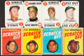 Baseball Cards:Lots, 1968 Topps Game and 1971 Topps Scratch off Collection (50). ...