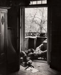 Photographs, Robert Capa (American, 1913-1954). Untitled, 1945. Gelatin silver. 13-7/8 x 11 inches (35.2 x 27.9 c...