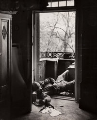 Robert Capa (American, 1913-1954) Untitled, 1945 Gelatin silver 13-7/8 x 11 inches (35.2 x 27.9 c