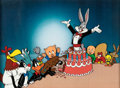 Animation Art:Presentation Cel, Bugs Bunny's 50th Birthday Publicity Cel (Warner Brothers, 1990). ...