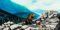 Animation Art:Concept Art, The Fox and the Hound Concept Painting/Illustration (Walt Disney, 1981). ...