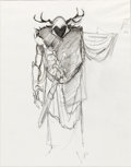 Animation Art:Concept Art, The Black Cauldron Horned King Chara...