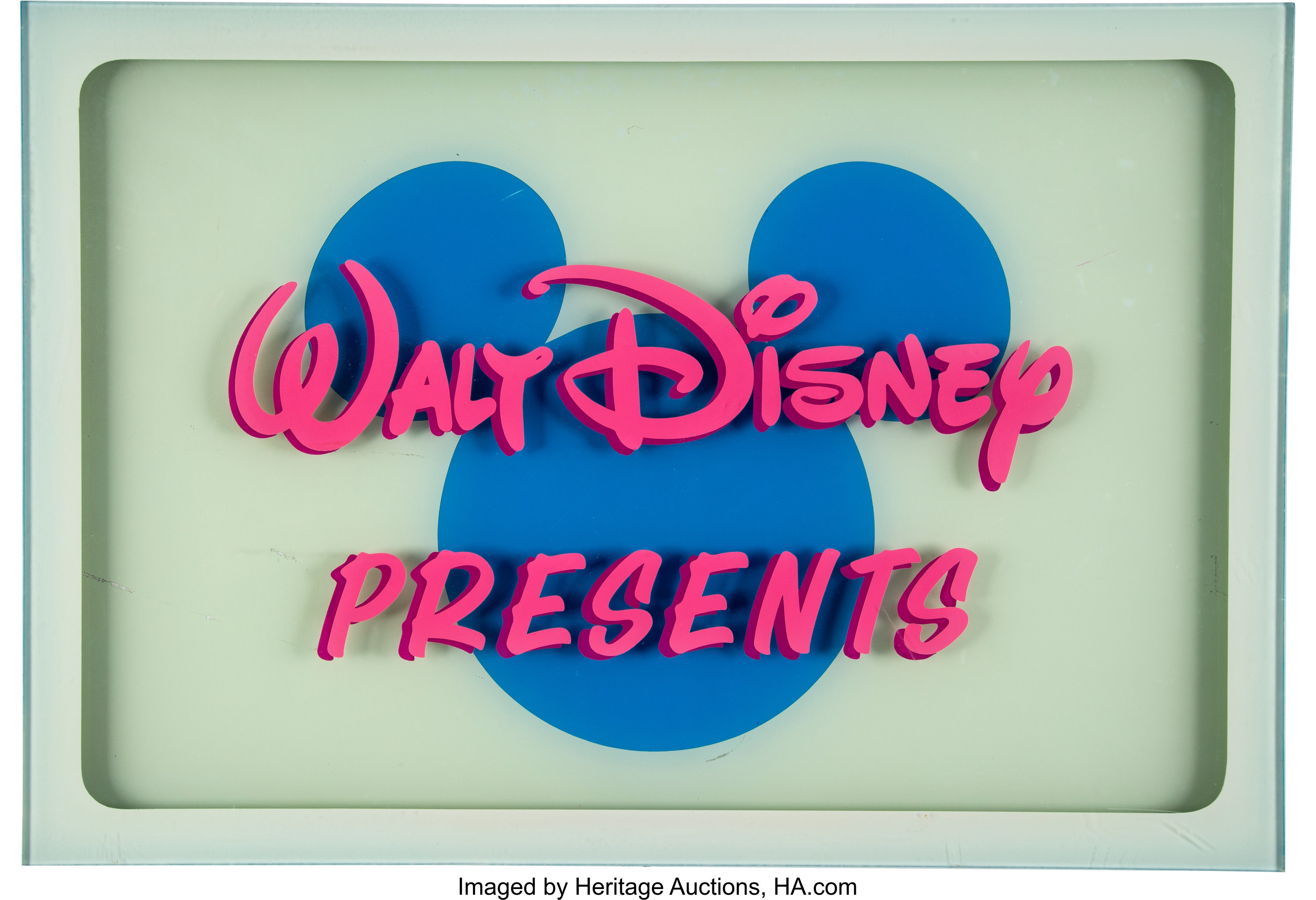 Walt Disney Presents Title Cel Walt Disney 1993 Animation Lot 63992 Heritage Auctions