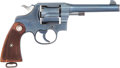 Handguns:Double Action Revolver, Colt New Service Model Commercial Double Action Revolver.. ...