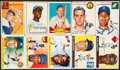 Baseball Cards:Lots, 1952-1955 Topps and Red Heart Baseball Collection (26)....