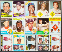 1963 to 1966 Topps/Fleer Baseball Collection (372). ... (Total: 372 items)