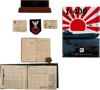 Archive of Machinist Bernice Francis Johnson, USN Prize Crew Member of Imperial Japanese Navy I-400 Submarine