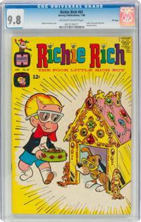 Richie Rich #65 File Copy (Harvey, 1968) CGC NM/MT 9.8 Off-white to white pages