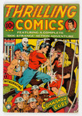 Golden Age (1938-1955):Adventure, Thrilling Comics #36 (Better Publications, 1943) Condition: GD+....