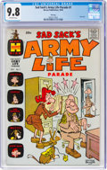Silver Age (1956-1969):Humor, Sad Sack's Army Life Parade #1 File Copy (Harvey, 1963) CGC NM/MT 9.8 Off-white pages....