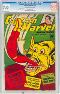 Golden Age (1938-1955):Superhero, Captain Marvel Adventures #140 (Fawcett Publications, 1953) CGC FN/VF 7.0 Off-white to white pages....