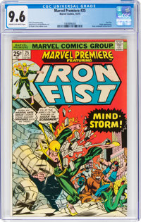 Marvel Premiere #25 Iron Fist (Marvel, 1975) CGC NM+ 9.6 Cream to off-white pages