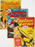 Golden Age (1938-1955):Superhero, Captain Marvel Adventures Group (Fawcett Publications, 1944).... (Total: 3 Comic Books)