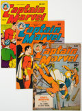 Golden Age (1938-1955):Superhero, Captain Marvel Adventures #46-48 Group (Fawcett Publications, 1945).... (Total: 3 Comic Books)