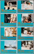 """Movie Posters:James Bond, The Man with the Golden Gun (United Artists, 1974). Very Fine-. International Lobby Card Set of 8 (11"""" X 14""""). James Bond.. ... (Total: 8 Items)"""