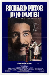 """Jo Jo Dancer, Your Life Is Calling & Other Lot (Columbia, 1986). Folded, Very Fine-. One Sheets (2) (27"""" X 41&q..."""