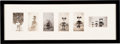 Memorabilia:Disney, Disney Character Dolls Original First Generation Photographs Group of 6 (Walt Disney, c. 1930s)....