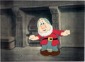 Animation Art:Color Model, The Winged Scourge/Seven Wise Dwarfs Sneezy Color Model Cel (Walt Disney, 1940)....