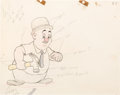 Animation Art:Color Model, Wabbit Twouble Elmer Animation Color Model Drawing (Warner Brothers, 1941)....