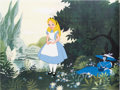 Animation Art:Color Model, Alice in Wonderland Production Cel/Color Model (Walt Disney, 1951)....