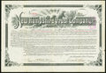 Miscellaneous:Other, Manchester, NH- New Hampshire Trust Company Bond $100 May 1, 1894 Very Fine.. ...
