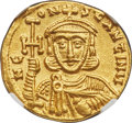 Ancients:Byzantine, Constant. V (AD 740/1-775). AV Solidus...