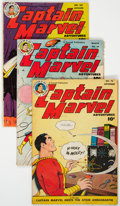 Golden Age (1938-1955):Superhero, Captain Marvel Adventures Group (Fawcett Publications, 1947-52) Condition: Average VG-.... (Total: 11 Comic Books)