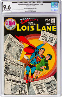 Superman's Girlfriend Lois Lane #104 Murphy Anderson File Copy Pedigree (DC, 1970) CGC NM+ 9.6 Off-white to white pages...