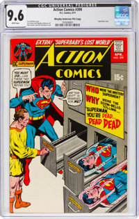 Action Comics #399 Murphy Anderson File Copy Pedigree (DC, 1971) CGC NM+ 9.6 White pages