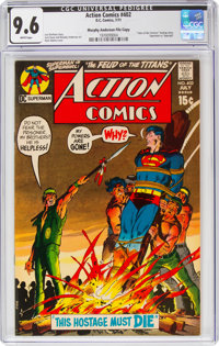 Action Comics #402 Murphy Anderson File Copy Pedigree (DC, 1971) CGC NM+ 9.6 White pages