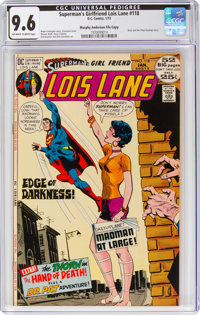 Superman's Girlfriend Lois Lane #118 Murphy Anderson File Copy Pedigree (DC, 1972) CGC NM+ 9.6 Off-white to white pages...