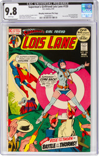 Superman's Girlfriend Lois Lane #120 Murphy Anderson File Copy Pedigree (DC, 1972) CGC NM/MT 9.8 White pages