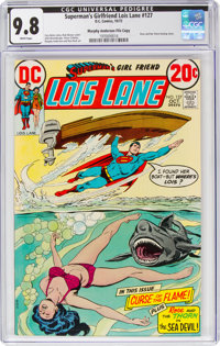 Superman's Girlfriend Lois Lane #127 Murphy Anderson File Copy Pedigree (DC, 1972) CGC NM/MT 9.8 White pages