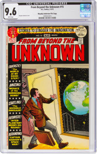 From Beyond the Unknown #15 Murphy Anderson File Copy Pedigree (DC, 1972) CGC NM+ 9.6 White pages