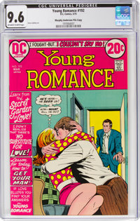 Young Romance #192 Murphy Anderson File Copy Pedigree (DC, 1973) CGC NM+ 9.6 Off-white to white pages