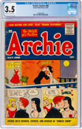 Silver Age (1956-1969):Humor, Archie Comics #80 (Archie, 1956) CGC VG- 3.5 Off-white to white pages....