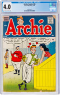 Silver Age (1956-1969):Humor, Archie Comics #96 (Archie, 1958) CGC VG 4.0 Light tan to off-white pages....