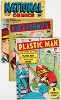 Golden Age (1938-1955):Superhero, Quality Comics Group of 4 (Quality, 1950s) Condition: Average FN-.... (Total: 4 Comic Books)