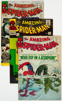 The Amazing Spider-Man Group of 5 (Marvel, 1964-66).... (Total: 5 Comic Books)