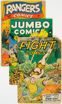 Fiction House Reading Copies Group of 5 (Fiction House, 1940s-50s).... (Total: 5 Comic Books)
