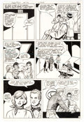 Original Comic Art:Panel Pages, Curt Swan and Frank Chiaramonte Superman #367 Story Page 2 Original Art (DC Comics, 1982)....
