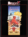Basketball Collectibles:Programs, 1994 Chicago Bulls Programs and Ticket from United Center Inaugural Game....