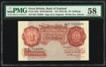 Great Britain Bank of England 10 Shillings ND (1934-39) Pick 362c PMG Choice About Unc 58