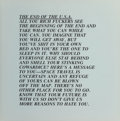 Prints & Multiples, Jenny Holzer (b. 1950). The End of the USA, from Inflammatory Essays, 1982. Offset lithograph on paper. 17 x 16-3/4 ...