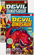 Bronze Age (1970-1979):Miscellaneous, Devil Dinosaur #1 and 2 Group (Marvel, 1978).... (Total: 2 Comic Books)