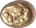 Ancients:Greek, IONIA. Uncertain mint. Ca. 650-600 BC. EL third-stater or ...
