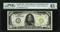 Fr. 2211-J $1,000 1934 Light Green Seal Federal Reserve Note. PMG Choice Extremely Fine 45 EPQ
