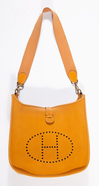 Hermes Sable Evelyne GM Bag, 1997 12 x 13 x 3-1/2 inches (30.5 x 33.0 x 8.9 cm)
